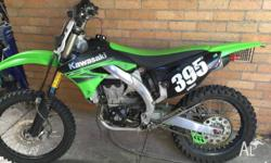 Hi, up for sale is my Kawasaki KX450F 2010 Fuel