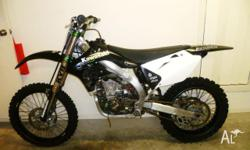 KX450/500, 2nd owner, many extras too many to list,