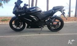 Kawasaki ninja. 1998 250cc learner bike. These are the