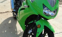 Kawasaki Ninja 250R, excelent condition, newer had a