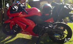 Kawasaki Ninja 250RXJ 2012 series. Learner Approved