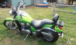 Kawasaki Vulcan 900 Custom, bike as new. One owner,