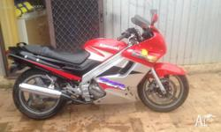Due To Lack Of Use I Am Selling A Zzr250 Kawasaki Has