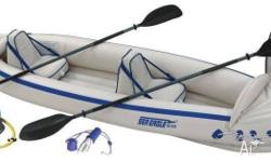 Sea Eagle SE 370 Deluxe 2 person Pro Kayak Package in