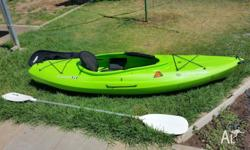 Kayak has been used twice and is still in excellent