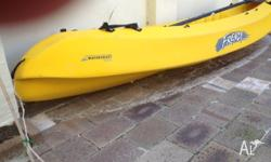 Large Kayak/Canoe - we have had for 4 years and had