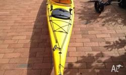 "Up for sale is my Challenge ""Sequel"" kayak. It is in"