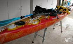 Australian made top quality kayak. The Dagger Edisto is