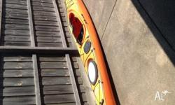 Dagger Exodus 16.10 ocean touring kayak Retail around