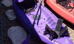 Good quality kayak with storage. Suitable for weight up