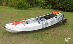 Near new Escape fishing kayak - see link below for