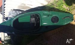 Hey, Selling my Kayak as dont use as much now and its