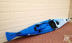 Finn Affinity Kayak in perfect condition - hardly been