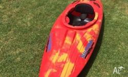 Illusions Kayak for sale great for river or surf,