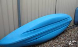 10 ft Seak Swift Kayak Blue in colour.With seat and