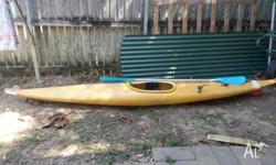 I have a Kayak for sale it is in good condition and