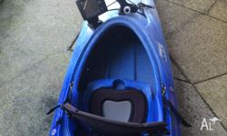 Up for grabs is my Perception Acadia 370. This yak is