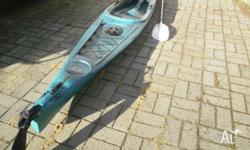 AKA ,adventure kayaks australia crossfire 4.35m long x