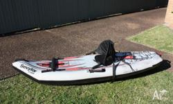 Kayaks (x2) Sevylor ST5656 c/w paddles and seats Good
