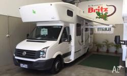 VW CRAFTER KEA MADE 6 BERTH .AUTO DIESEL. LIKE NEW