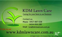 - � Edge trimming - � Hedging and pruning - � Lawn