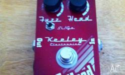 For sale is my Keeley Fuzz Head Fuzz pedal Is in great