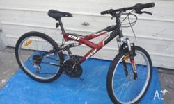 Kent Ripsaw Bike with 60 cm Wheels. Good condition.