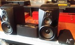 KENWOOD 4 WAY SPEAKERS 4 WAY 6 OHMS CENTER SPEAKER 8