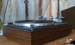 Vintage Japanese made turntable in excellent