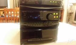 KENWOOD STEREO SYSTEM UNIT TUNER FM/AM AUX INPUT FOR