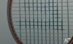 Oversize Dictator Emrik squash racquet, needs new grip