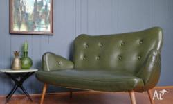 A really wonderful 1950s sofa in original upholstery -