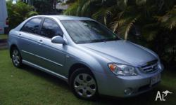 Kia Cerato 2005 sedan,94 00klms,5 speed, 2litre