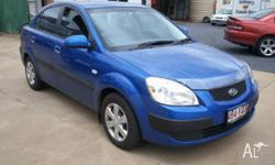 KIA,RIO,JB,2007, FWD, 4D SEDAN, 1599cc, 82kW, UNLEADED
