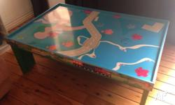 Lovely Kidkraft train table purchased from Myer a few