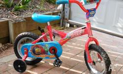 Chuggington 30cm kids bicycle Front handlebar has