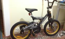 Kids bicycle for sale with DUAL SHOCK SYSTEM I can