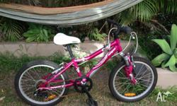 Mongoose bike about 1 year old, great for kids from 4
