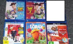 Have the following Blu-ray's for sale. All are Region