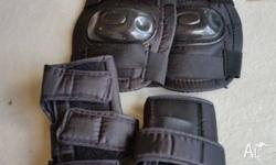 set of kids elbow & knee guards, would fit roughly from