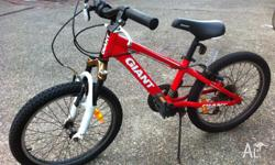 Here is a kids mountain bike, suitable for 5-10 year