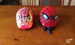 Brand new kids bike helmets. Never used. Small sizes.