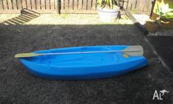 selling kids kayak in good condition son has outgrown