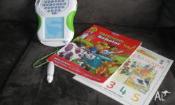 Kids learning pack comes with two educational books