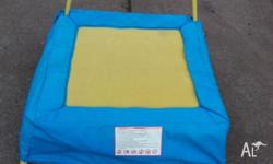 KIDS MINI TRAMPOLINE. Excellent Condition. Yellow and