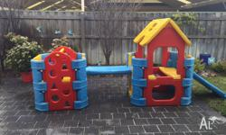 Kids outdoor play gym $220 ono In great used condition,