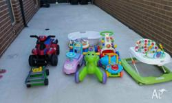 All the toys Baby�Toddler toys are in good condition