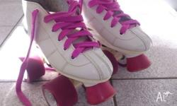 Barely used awesome kids Crazy Rocket roller skates as