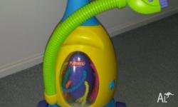 Hi selling a kids play vacuum in good condition. Still