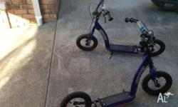Kids Xero Scooters x 2 Good working order. Kids have